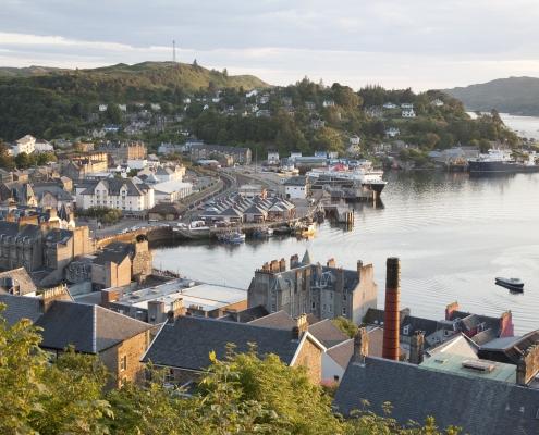 Port de Oban Écosse Europe Voyage