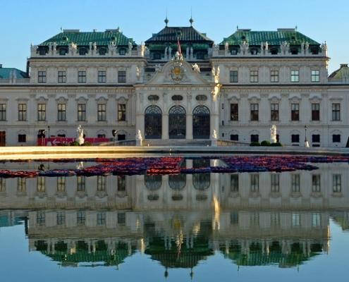 Château baroque Vienne Autriche Voyage