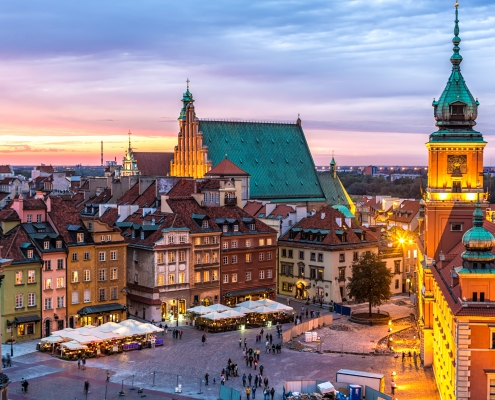 Varsovie Pologne Europe Voyage