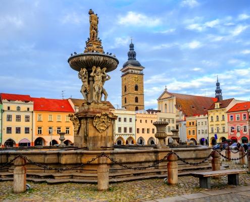 Ceske Budejovice République Tchèque Voyage