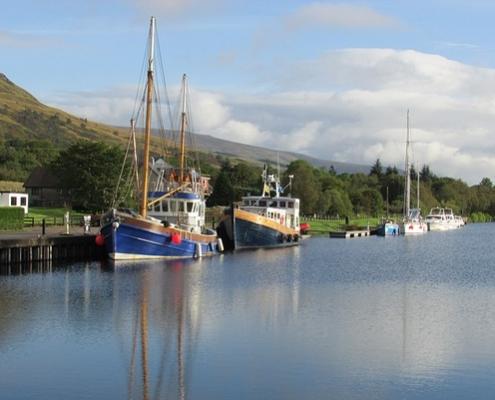 Port de Fort William Écosse Europe Voyage
