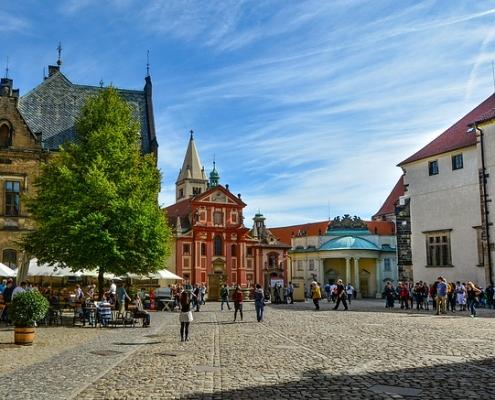 Place de Prague République Tchèque Europe Voyage