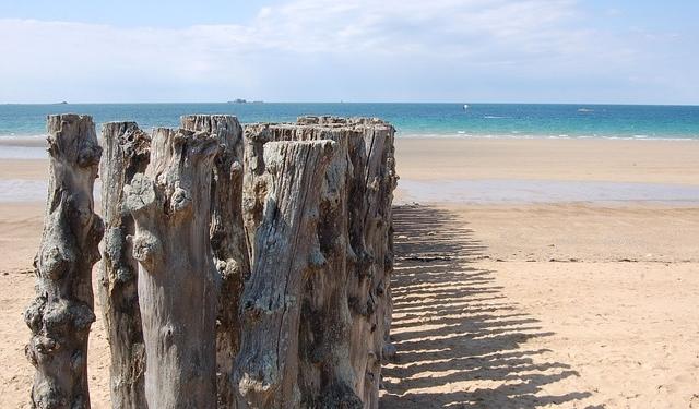 Plage de Saint Malo France Europe Voyage