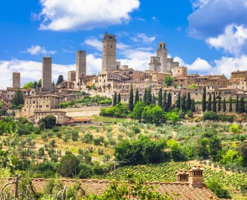 San Gimignano Toscane Italie Voyage
