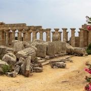 Sicile Ruines Europe Voyage