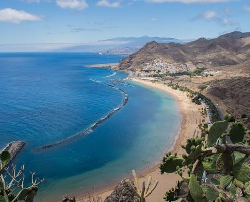 Santa de Cruz Tenerife Espagne Europe Voyage