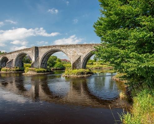 Pont de Stirling Écosse Europe Voyage