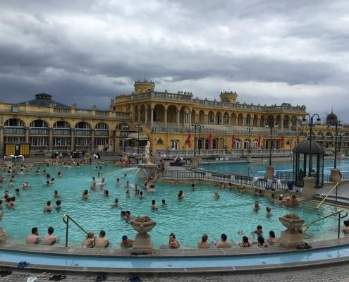 Budapest spa Szechenyi Hongrie Europe Voyage