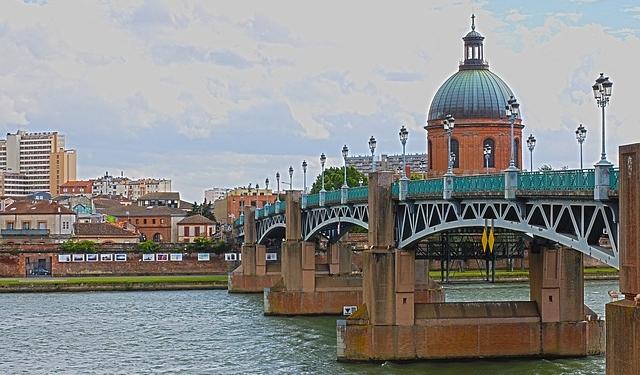 Pont de Toulouse France Europe Voyage