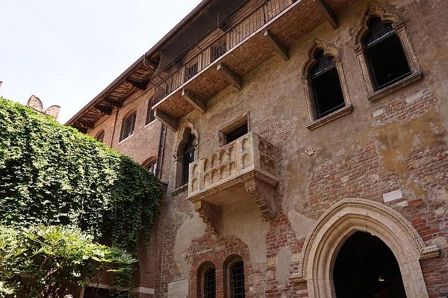 Verone balcon de juliette Italie Europe Voyage