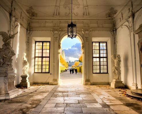 Vienne belvédère Autriche Europe Voyage