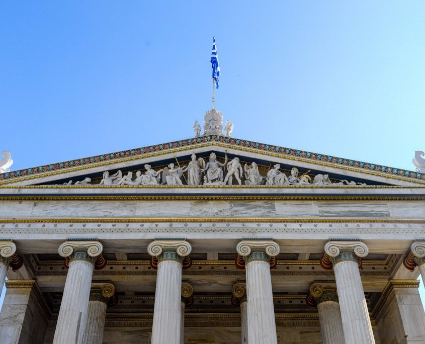 Temple d'Athènes Grèce Europe Voyage