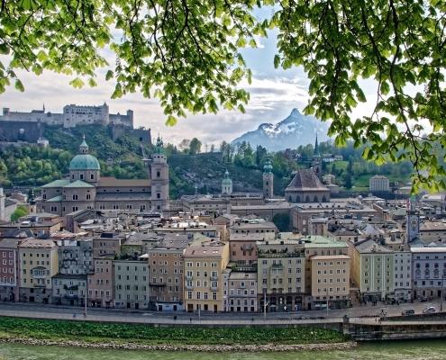 Salzbourg Autriche Europe Voyage