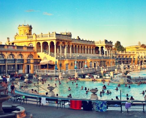 Bain de Budapest Hongrie Europe Voyage