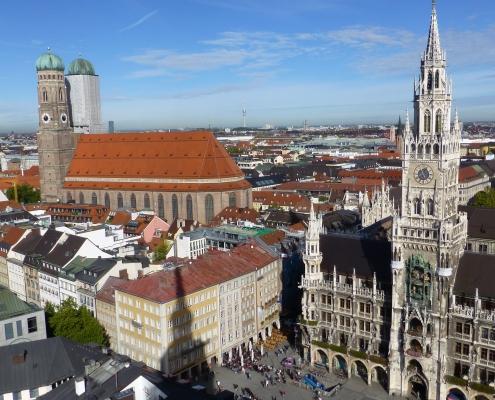 Munich Bavière Allemagne Europe Voyage