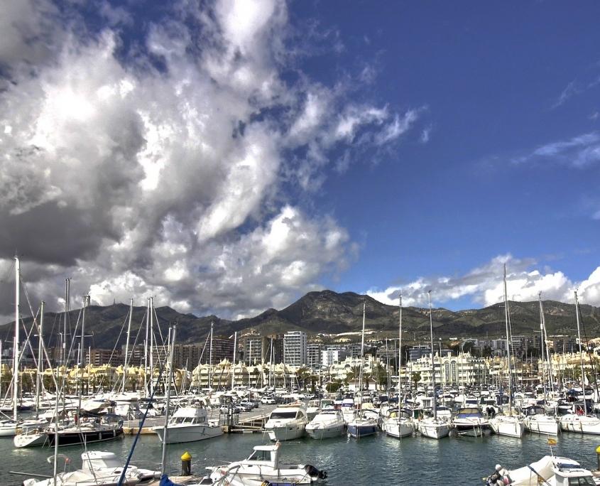 Port de Benalmadena Espagne Europe Voyage