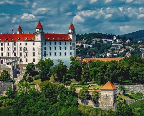 Château Bratislava Slovaquie Europe Voyage