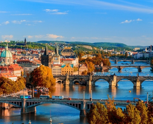 ponts Prague République Tchèque Europe