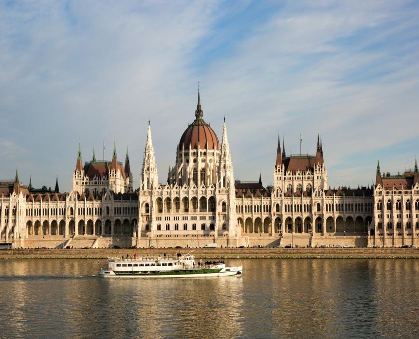 Palais Budapest Hongrie Europe Voyage