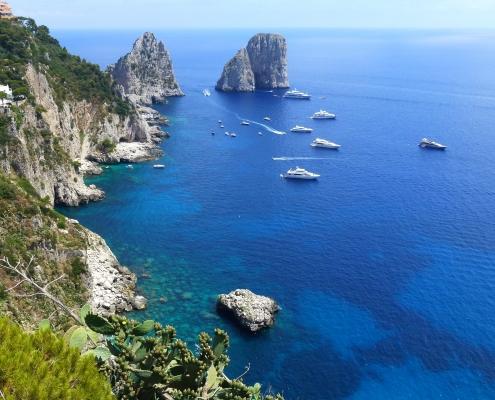 Capri eaux Italie Europe Voyage