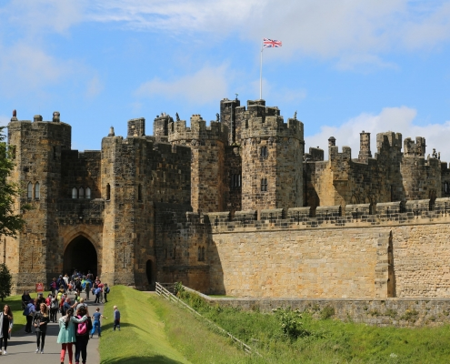 Château Alnwick Angleterre Europe Voyage