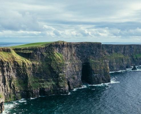 Falaise de Moher Irlande Europe Voyage