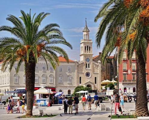 Split Croatie Europe Voyage