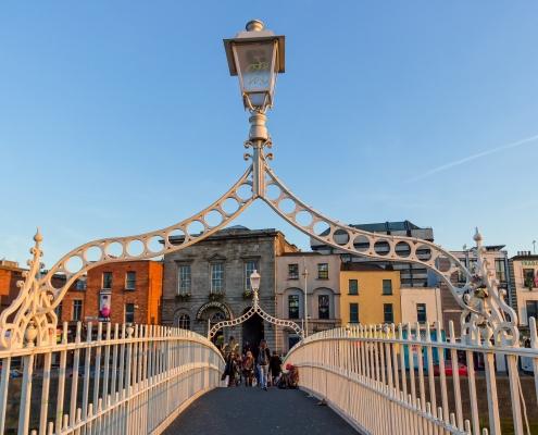 Pont Dublin Irlande Europe Voyage