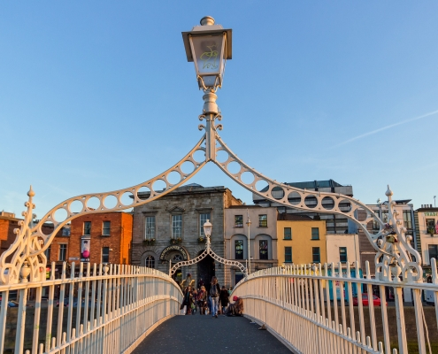 Pont de Dublin Irlande Europe Voyage