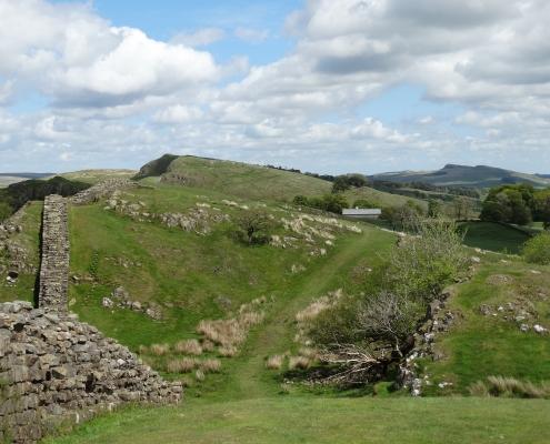 Mur d'Hadrian Angleterre Europe Voyage