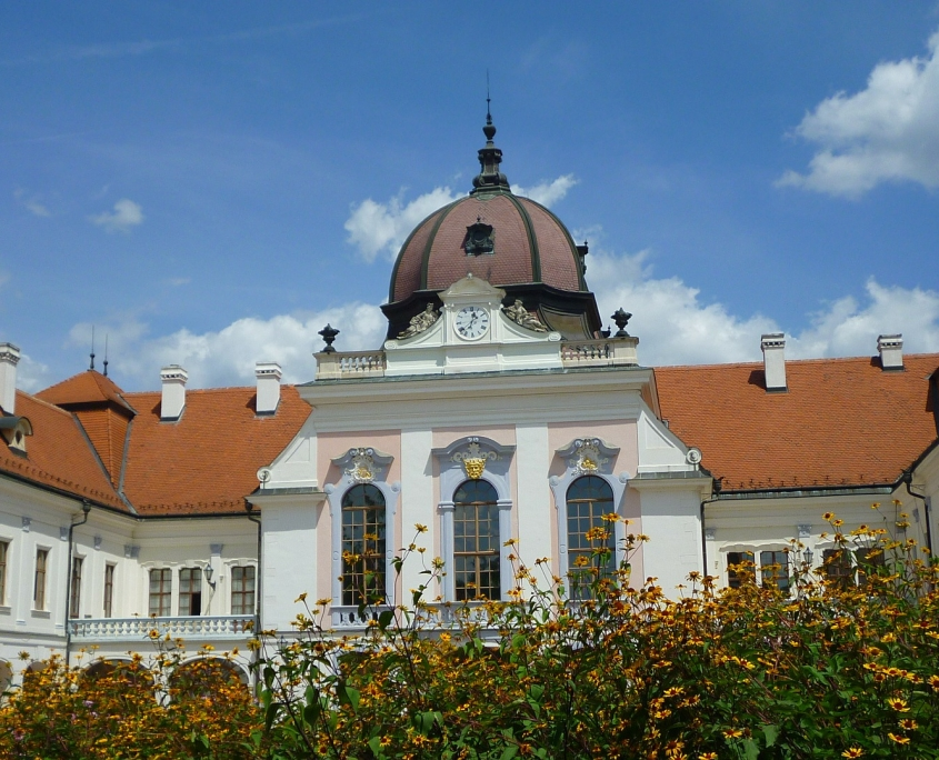 Palais baroque Godollo Hongrie Europe Voyage
