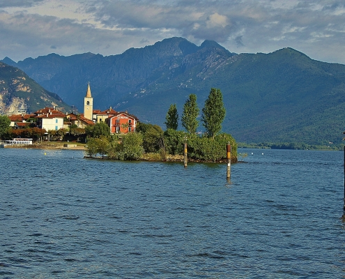 Lac Majeur Italie Europe Voyage