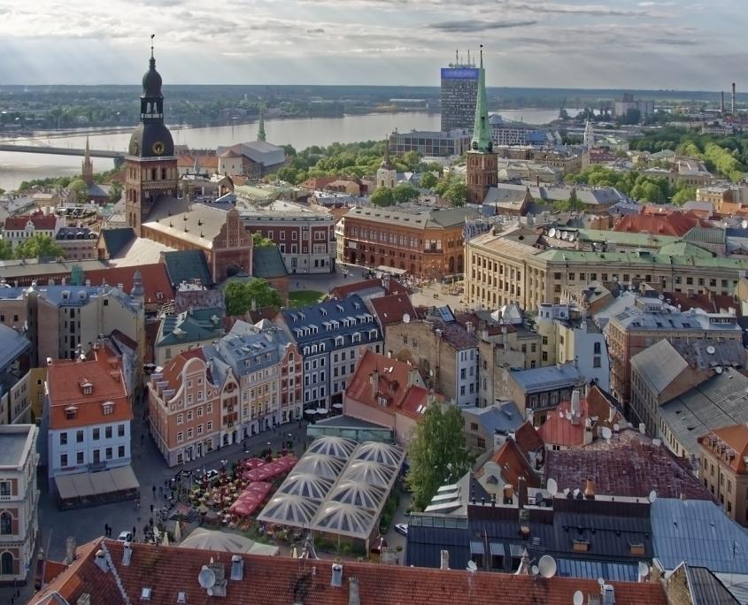 Riga Lettonie Europe Voyage