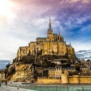Mont St Michel France Europe Voyage