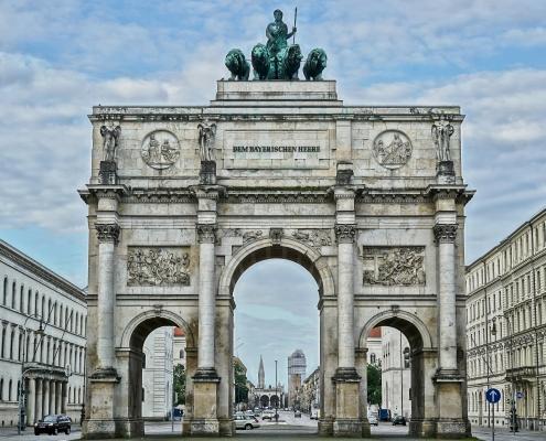 Munich Allemagne Europe Voyage