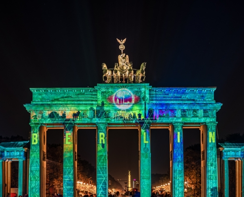 Berlin porte de Brandebourg Allemagne Europe Voyage