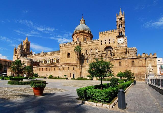 Palais de Palerme Sicile Europe Voyage