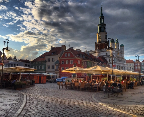 Poznan centre ville Pologne Europe Voyage