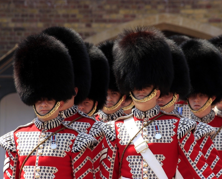 Coldstream Guards Londres Europe Voyage