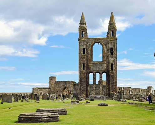 St-Andrews ruines Écosse Europe Voyage