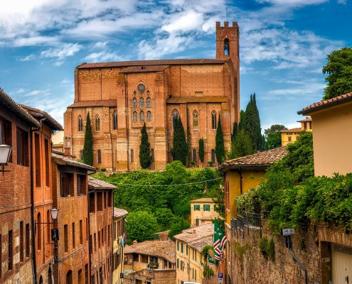 Sienne Toscane Italie Europe Voyage