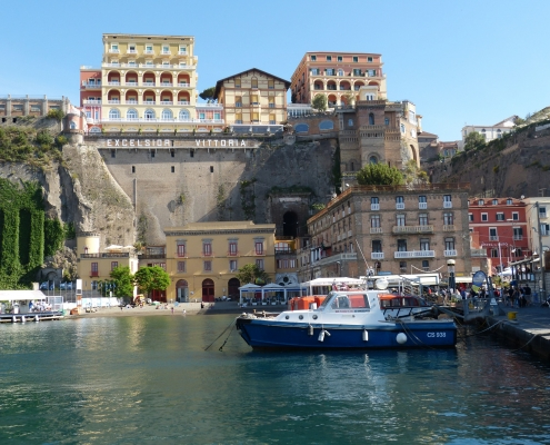 Port Sorrente Italie Europe Voyage
