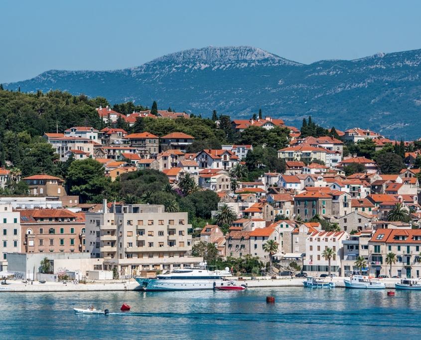 Port de Split Croatie Europe Voyage