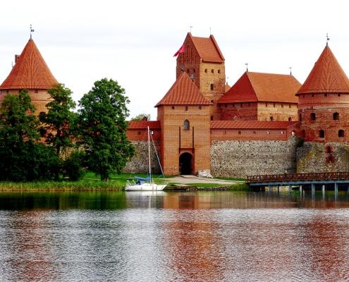 Château de Trakai Lituanie Europe Voyage