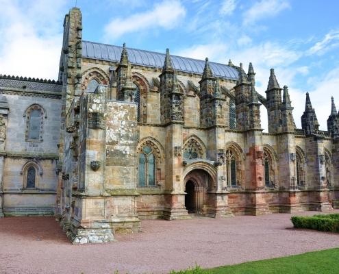 Chapelle de Rosslyn Écosse Europe Voyage