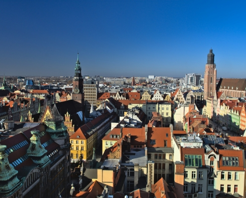 Wroclaw Pologne Europe Voyage