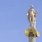 Statue Athènes Grèce Europe Voyage