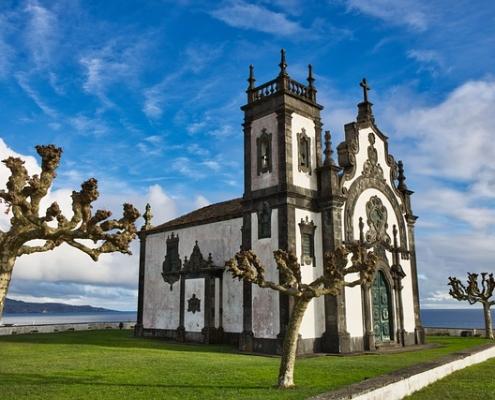 Eglise Açores Portugal Europe Voyage