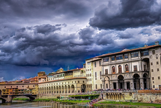 Ponte Vecchio Florence Italie Europe Voyage