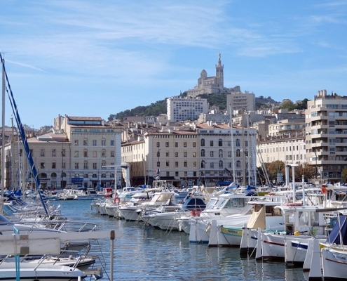 Vieux Port Marseille France Europe Voyage